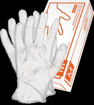 Jednorázové chirurgické rukavice VINYL CLEAR 100 ks