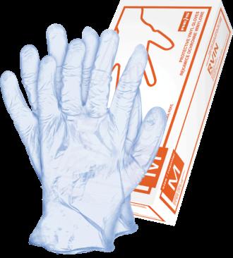 Jednorázové chirurgické rukavice 100ks VINYL BLUE