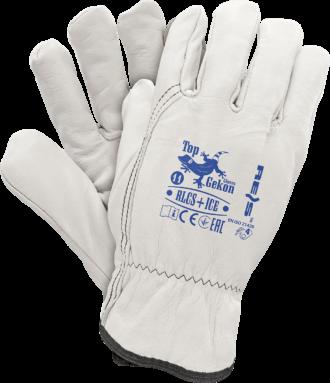 Kožené zimní pracovní rukavice PETY ICE