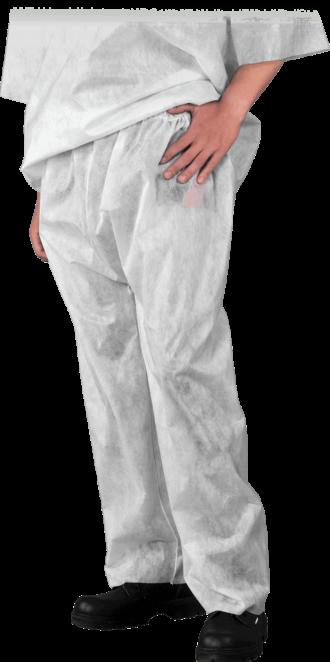 Jednorázové pracovní kalhoty POLYPRO ochranné
