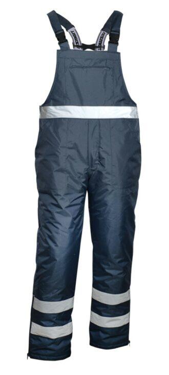 Zimní kalhoty na šle VIZWELL JK113 NAVY