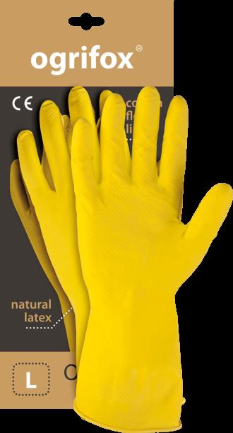 Pracovní rukavice gumové LATEX OX