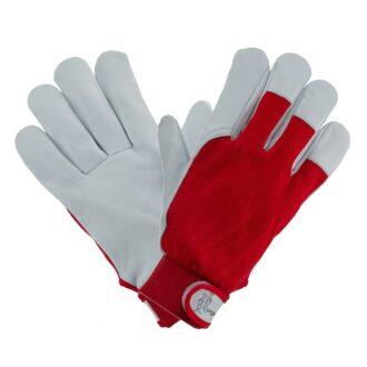 Pracovní rukavice z kozinky MASTER RED