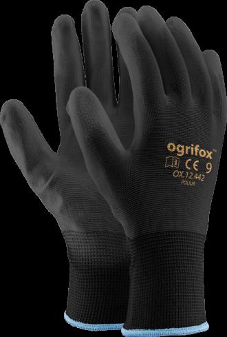 Máčené rukavice REPO OX BLACK