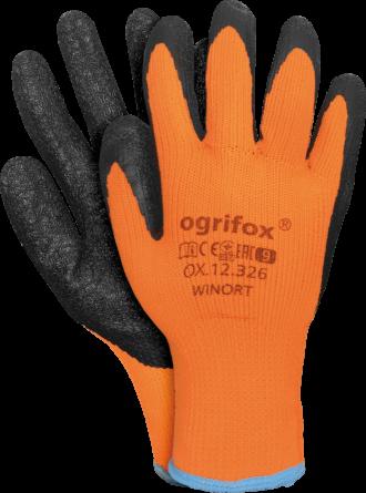 Máčené zimní rukavice WINORT
