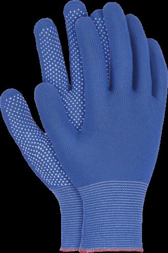 Pracovní rukavice s terčíky DOT SIMPLE BLUE