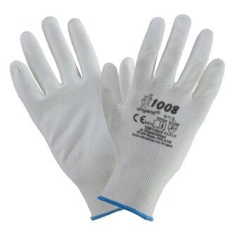 Ochranné rukavice máčené REPO WHITE GNT
