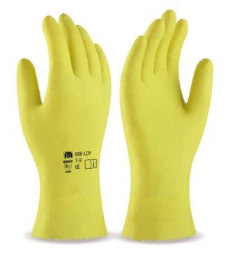 Latexové pracovní rukavice MARCA® AMARILLO