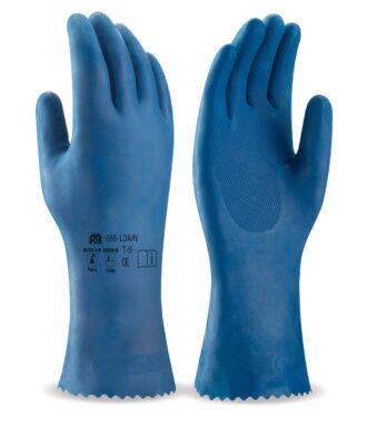 Latexové pracovní rukavice MARCA® AZUL
