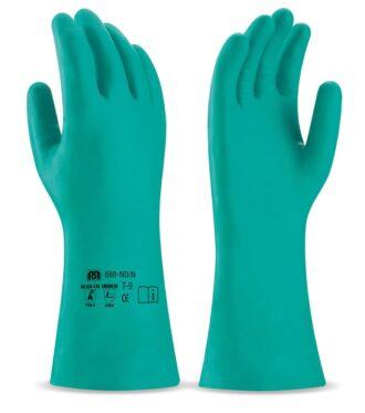 Nitrilové pracovní rukavice MARCA® VERDE