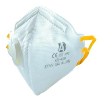 Respirátor s ventilem ABJ 400FC FFP3
