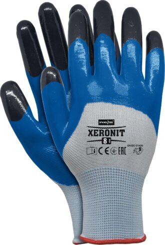 Pracovní rukavice nitrilové XERONIT BLUE