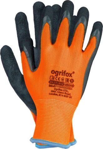Latexové rukavice FLUO OX ORANGE