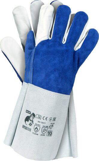 Pracovní svářečské rukavice MELY HARD