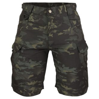 Taktické kalhoty kraťasy Tactical Guard Mago BLACK