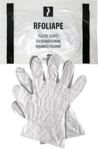 Jednorázové pracovní rukavice FOLIA 100ks
